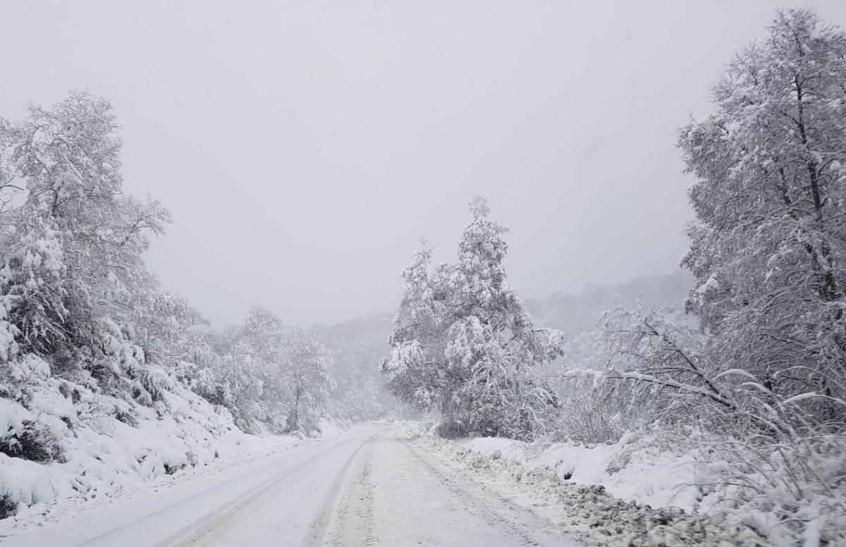 Comunicado de la Municipalidad por el escenario de nieve