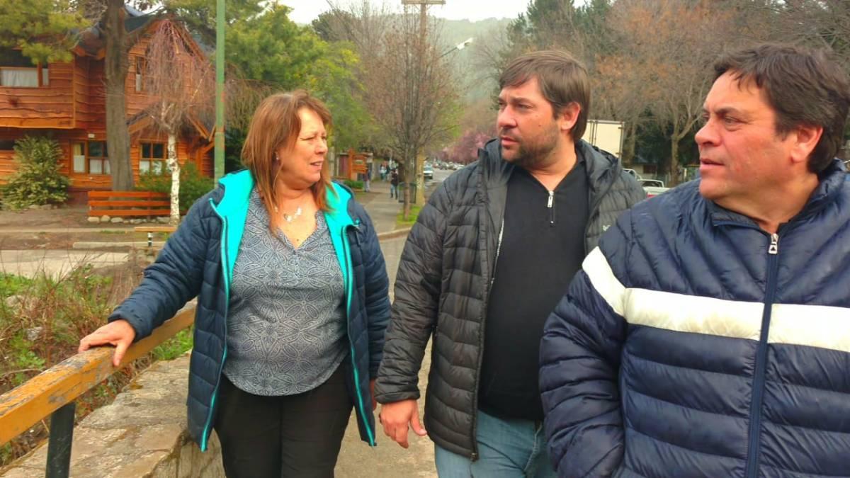 Parque Lineal Pocahullo: Recorrió las obras el Director Nacional de Desarrollo Territorial junto a concejales del PRO