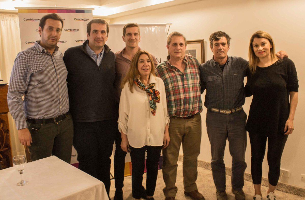 El encuentro de referentes de Cambiemos reunió a Bosch y otros precandidatos a intendente