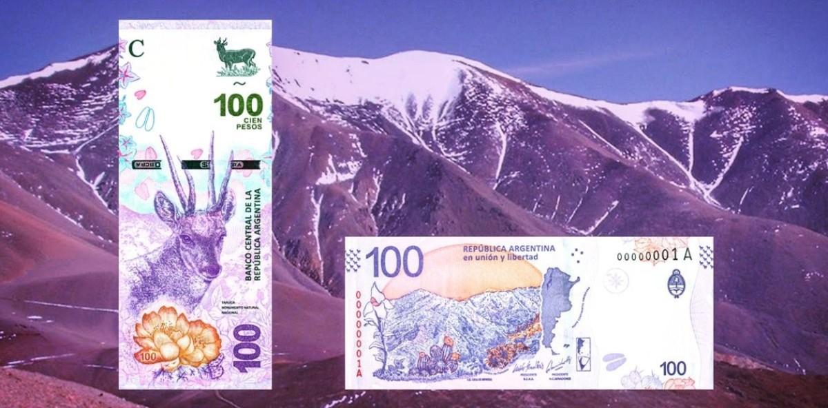 Monedas de 10 pesos y un nuevo billete de 100 es lo que dispuso el Banco Central